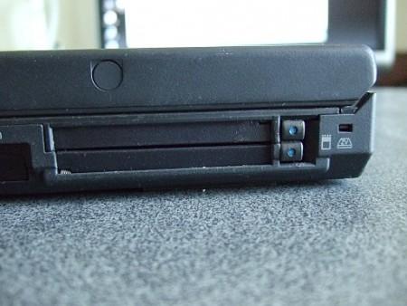Detail CardBus v některém z výrazně novějších ThinkPadů