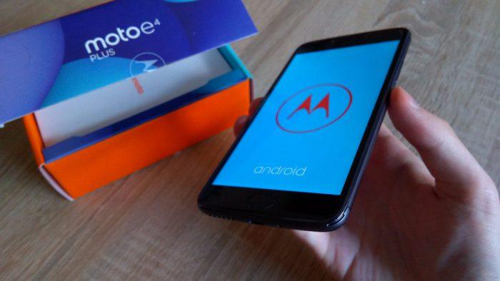 Motorola Moto E4 Plus (první pohled)