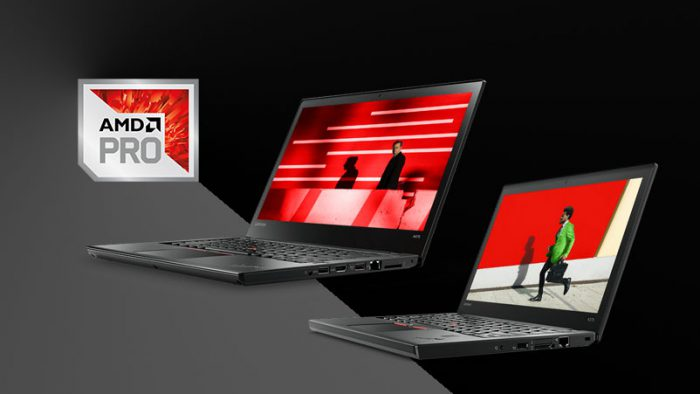 Nové ThinkPady A275 a A475 s procesory AMD Pro!