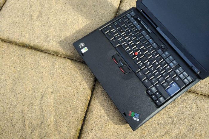 IBM ThinkPad R31: galerie