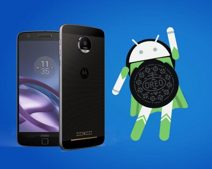 Moto Z dostává Android 8 Oreo