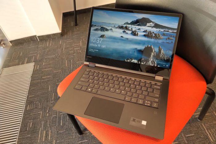 Lenovo Yoga 530-14: konvertibl s AMD Ryzen (recenze)