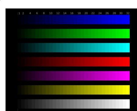 Ukázka podání barev Thinkpad T580