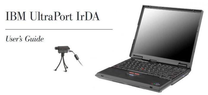 IBM ThinkPad UltraPort: mileniální konektor pro připojení různorodého příslušenství
