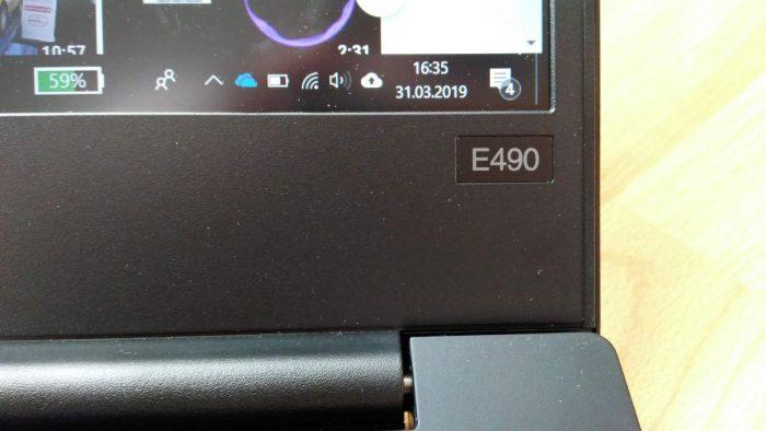 ThinkPad E490 (první pohled)
