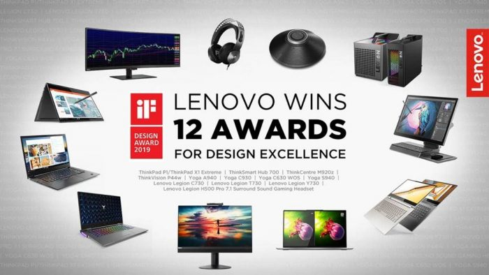 Lenovo iF Design Award 2019