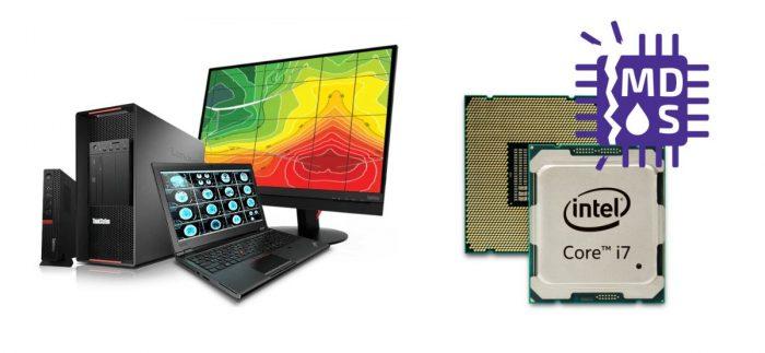 Opravy bezpečnostních chyb MDS v procesorech Intel Core zařízení Lenovo