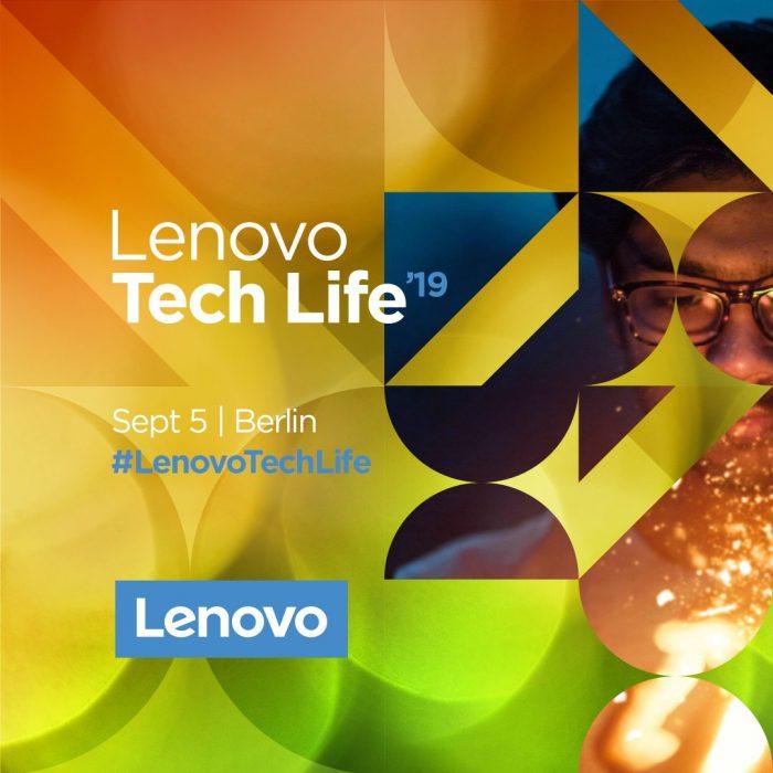 IFA 2019: Prezentace novinek Lenovo Tech Life