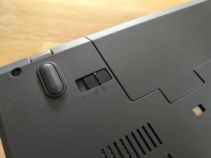 TIP: Docvakněte si na ThinkPadu zámek baterie!