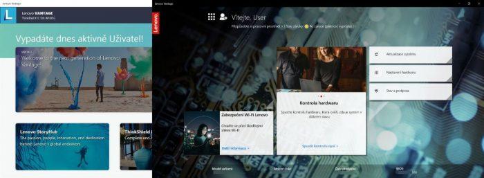 Enterprise verze Lenovo Vantage vrací zpět původní design a chybějící funkce