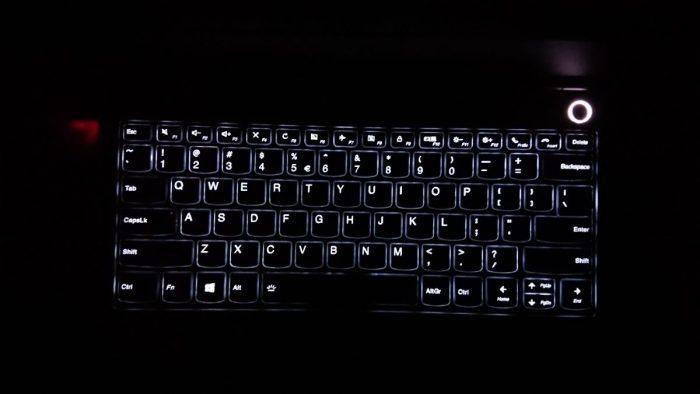 Podsvícení klávesnice