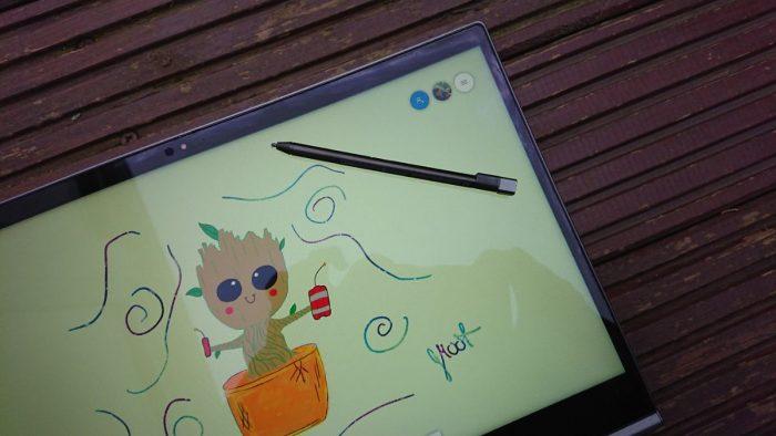 Groot ThinkPad