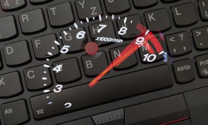 Zvyšujeme citlivost TrackPointu v nových ThinkPadech s Windows