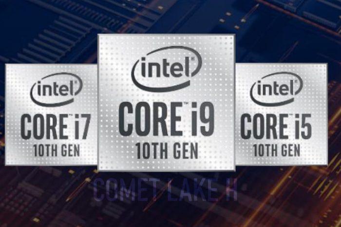 Intel Comet Lake-H pro notebooky jsou tady