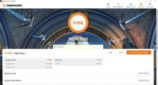 3DMark Night Raid, Lenovo Yoga C940-14IIL.