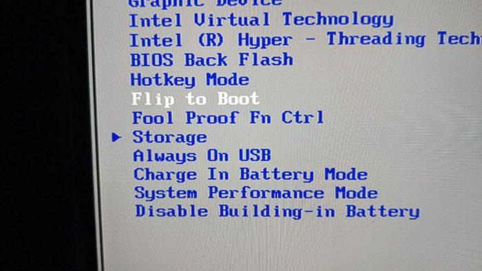 BIOS-volby